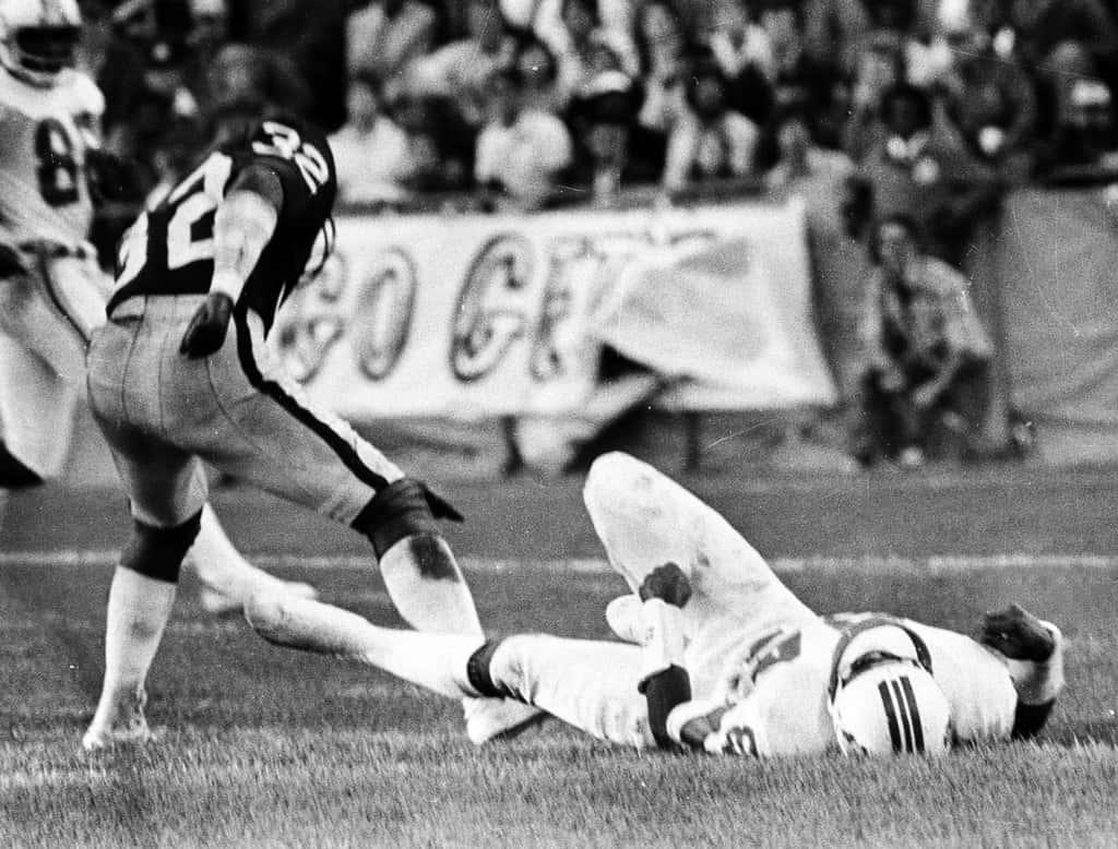 Darryl Stingley New England Patriots