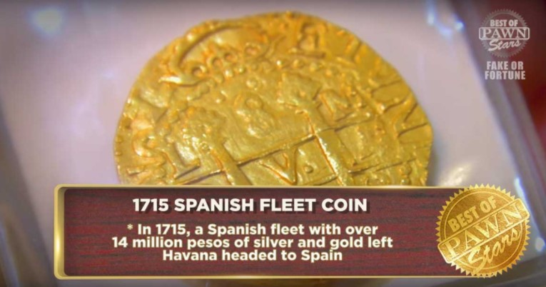 1715 Spanish Fleet Gold Coin