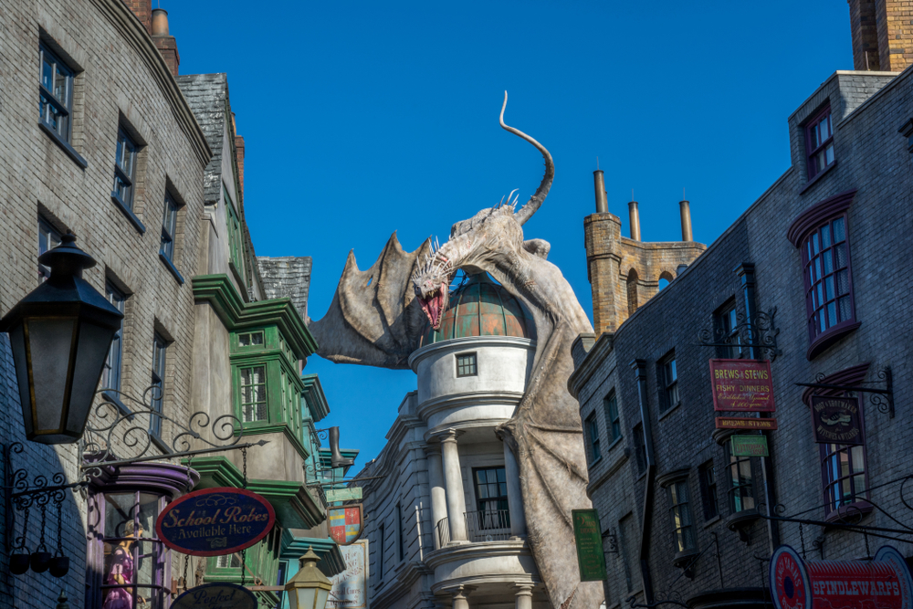 Harry Potter World At Universal Studios1